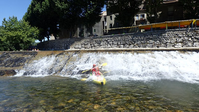 location de canoë et kayak sur l'Hérault, près de Montpellier