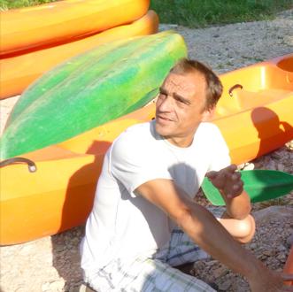 Xavier - Kayak Hérault
